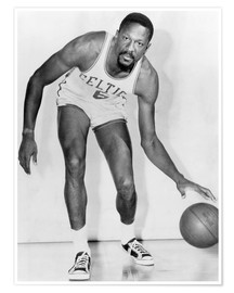 Poster Premium  Bill Russell