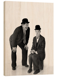 Legno  Laurel and Hardy