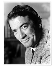 Poster Premium Gregory Peck