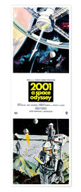 Poster Premium  2001: A Space Odyssey 1968