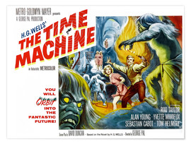 Poster Premium  THE TIME MACHINE, Yvette Mimieux, Rod Taylor