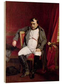 Legno  Napoleon after his Abdication - Hippolyte Delaroche