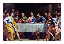 Poster Premium The Last Supper