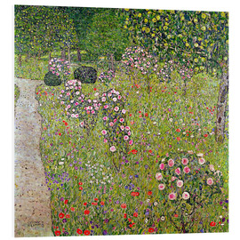 Forex  Orchard with roses - Gustav Klimt