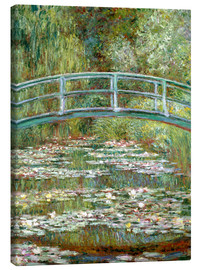 Tela  the japanese bridge - Claude Monet
