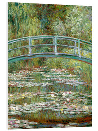 Forex  the japanese bridge - Claude Monet