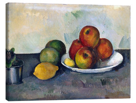 Stampa su tela  Apples - Paul Cézanne