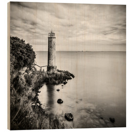 Stampa su legno  [the forgotten lighthouse] - Mario Benz
