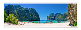Poster Premium  Maya Bay - The Beach - Thailand - Stefan Becker