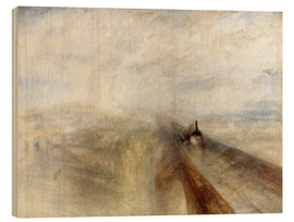 Legno  Rain, Steam and Speed - Joseph Mallord William Turner