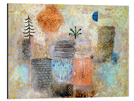 Alluminio Dibond  Park with the cool half-moon - Paul Klee