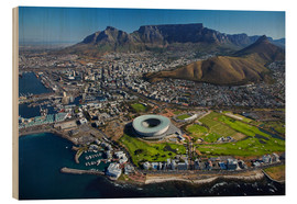 Legno  Aerial view of Cape Town Stadium - David Wall