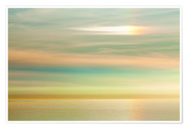 Poster  Sky and ocean, La Jolla - Don Paulson
