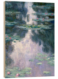 Legno  Water Lilies - Claude Monet