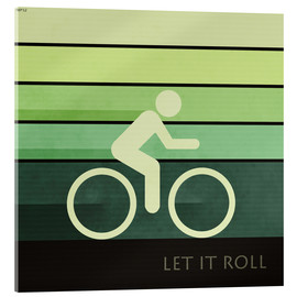 Stampa su vetro acrilico  Let It Roll - Phil Perkins