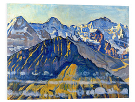 Forex  Eiger, Mönch and Jungfrau in the sun - Ferdinand Hodler