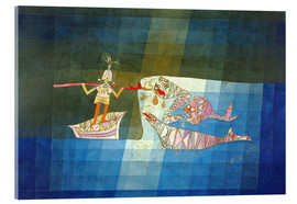 Stampa su vetro acrilico  Sinbad the Sailor - Paul Klee