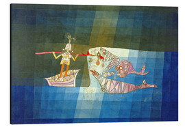 Alluminio Dibond  Sinbad the Sailor - Paul Klee