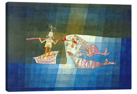 Stampa su tela  Sinbad the Sailor - Paul Klee