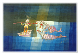 Poster  Sinbad the Sailor - Paul Klee