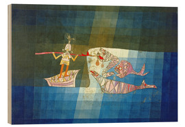 Legno  Sinbad the Sailor - Paul Klee