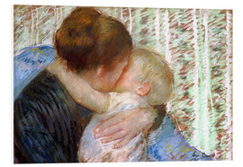 Stampa su schiuma dura  The Goodnight Kiss - Mary Stevenson Cassatt