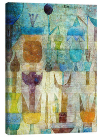 Tela  Plants early in the morning - Paul Klee
