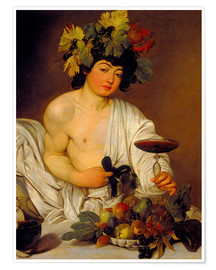 Poster  The Young Bacchus - Michelangelo Merisi (Caravaggio)