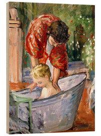 Legno  The Bath (Le Bain) - Henri Lebasque
