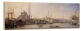 Stampa su legno  The Golden Horn, Suleymaniye Mosque and Fatih Mosque - Antoine Léon Morel-Fatio