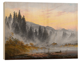 Legno  The Morning - Caspar David Friedrich