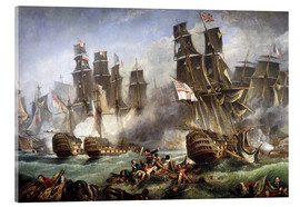 Vetro acrilico  The Battle of Trafalgar