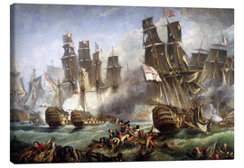 Tela  The Battle of Trafalgar