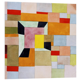 Forex  Split color squares - Paul Klee