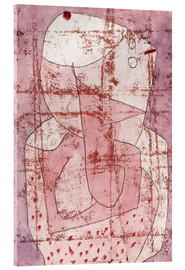 Stampa su vetro acrilico  Swiss clown - Paul Klee