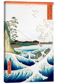 Tela  Sea at Satta in Suruga Province - Utagawa Hiroshige