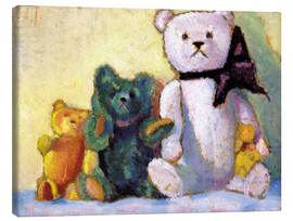 Stampa su tela  The bear family - Alexej von Jawlensky