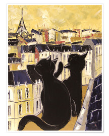 JIEL - Cats on the rooftops of Paris