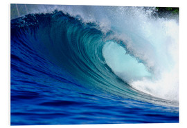 Forex  Big blue tropical island surfing wave - Paul Kennedy