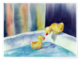 Poster  Rubber ducks - Jitka Krause