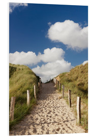 Stampa su schiuma dura  Sylt, path through dunes - Markus Lange