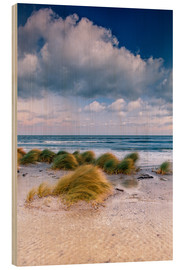 Stampa su legno  Baltic shore magic morning - Sascha Kilmer