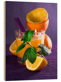 Legno  Orange juice in a glass - Edith Albuschat