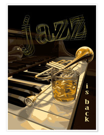 Poster Premium Jazz is back