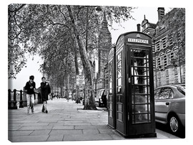 Stampa su tela  Streets of London - Städtecollagen