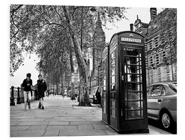 Stampa su schiuma dura  Streets of London - Städtecollagen