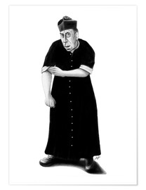 Poster Premium Don Camillo ready to rumble