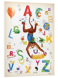 Stampa su schiuma dura  ABC Alphabet animals, colours and more - Heike Udes
