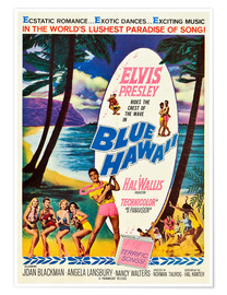 Poster Premium  Blue Hawaii