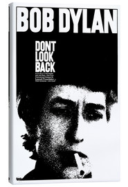 Stampa su tela  DON'T LOOK BACK